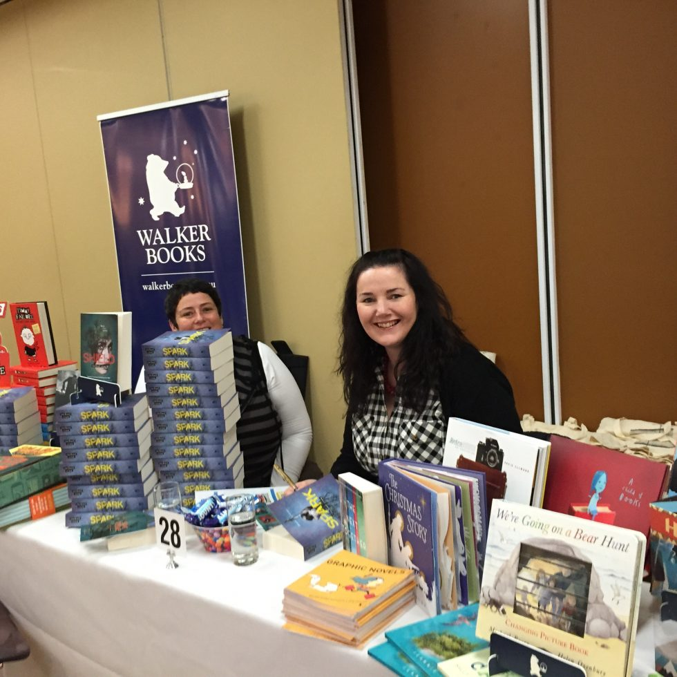 Walker books table 2
